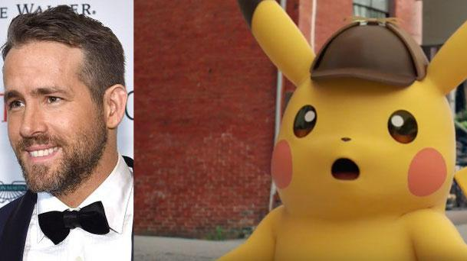 Ryan Reynolds devient Détective Pikachu !