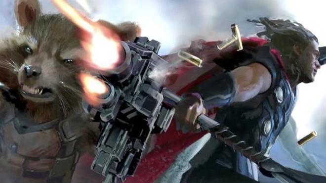 Avengers Infinity War : la nouvelle arme de Thor dévoilée ?