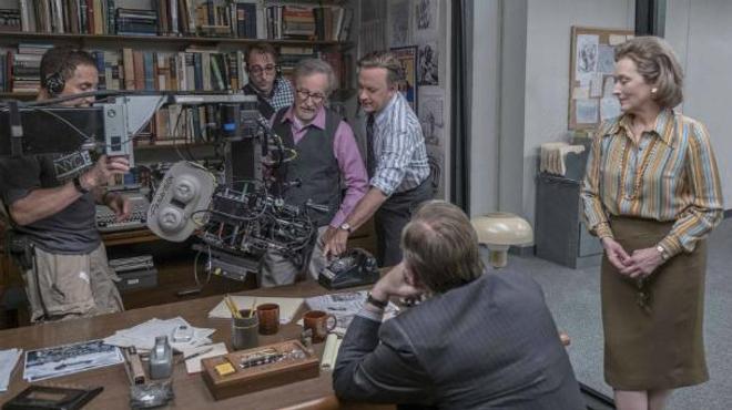 """Steven Spielberg: """"La presse est davantage attaquée aujourd'hui que dans les années 70"""""""