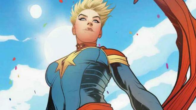 Captain Marvel : première photo de Brie Larson en costume