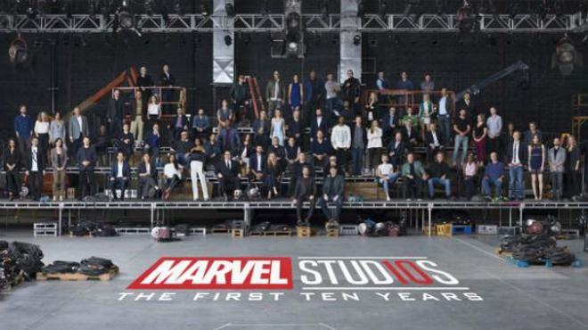 Marvel Studio : une énorme photo de classe pour les 10 ans du MCU