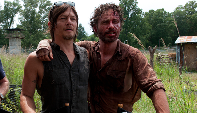 The Walking Dead : Norman Reedus rend hommage à Andrew Lincoln