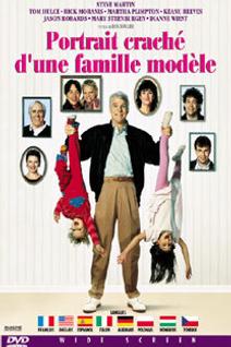 Portrait craché d'une famille modèle