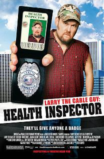 Larry the Cable Guy : Health Inspector