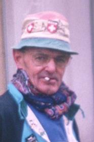 André Robillard, en compagnie