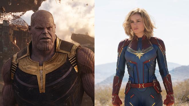 AvengersEndgame: Brie Larson sait comment Captain Marvel pourrait tuer Thanos