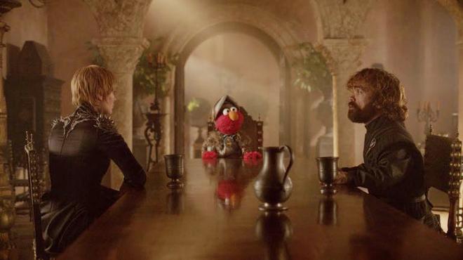 Game of Thrones : Elmo rend visite à Tyrion et Cersei (vidéo)