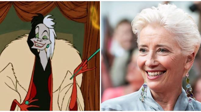 Disney : Emma Thompson dans le live action dédié à Cruella ?