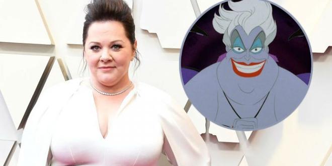 La Petite Sirène : Melissa McCarthy en Ursula dans le film live ?