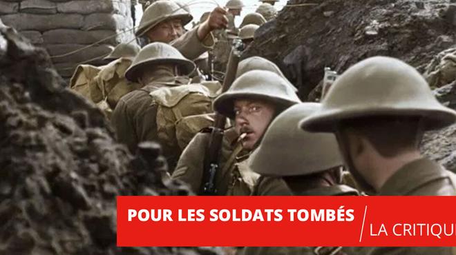 Pour les soldats tombés : le superbe tour de force de Peter Jackson