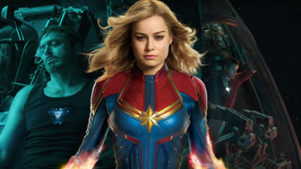 Avengers Endgame : on sait comment Captain Marvel a retrouvé Iron Man