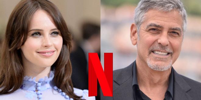 Felicity Jones dans le film Netflix de George Clooney