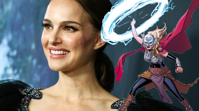 Thor 4 : Natalie Portman (Jane) sera la Déesse du Tonnerre