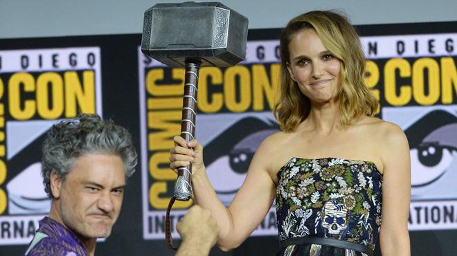 Thor 4 : Natalie Portman se prépare déjà à se glisser dans la peau de Thor