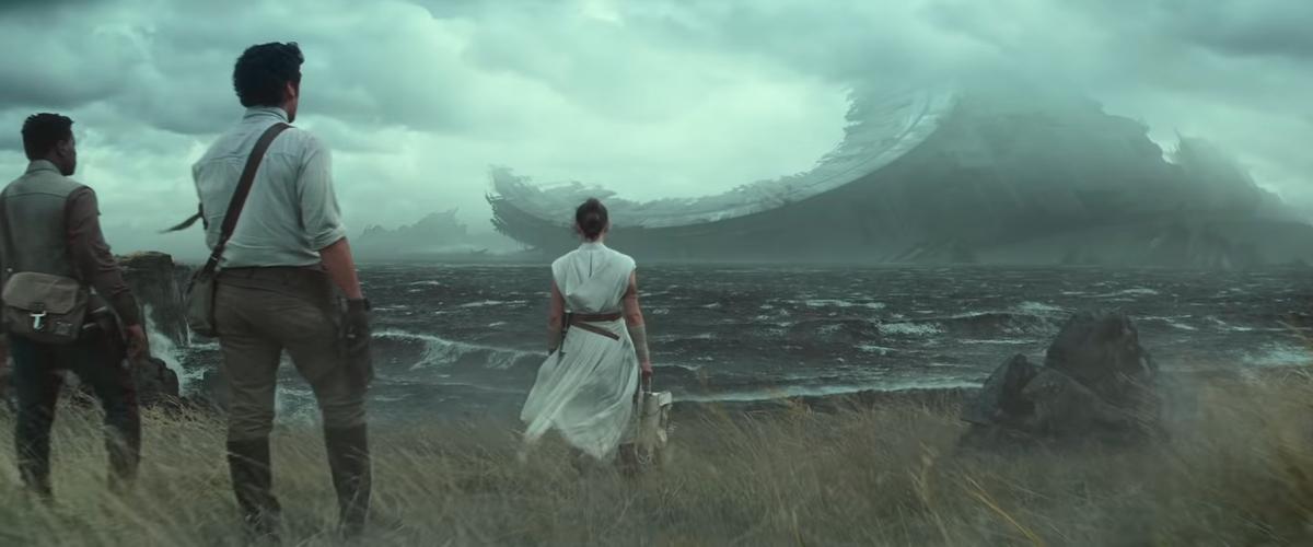 Finn, Rey & Poe Dameron (Star Wars épisode 9)
