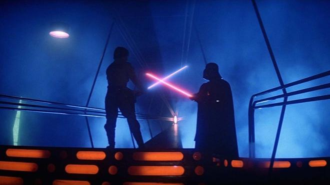 Luke Skywalker et Dark Vador (Star Wars épisode 5)