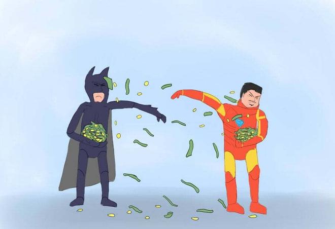 Batman VS Iron Man : Qui est le plus riche ?