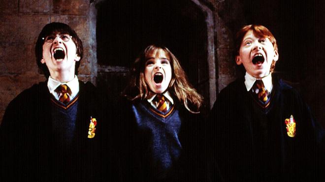 Harry Potter: revivez le tournage du premier film grâce à une vidéo d'archives inédite