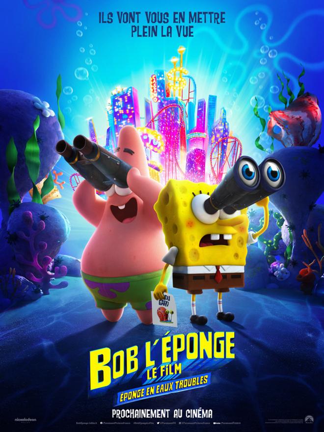Bob l'Éponge - Le Film : première bande annonce efficace pour le nouveau film d'animation