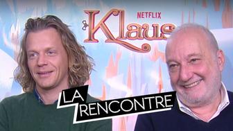 Klaus : rencontre avec les voix françaises Alex Lutz et François Berléand