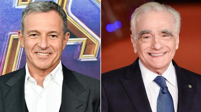 Le patron de Disney et Martin Scorsese vont se rencontrer