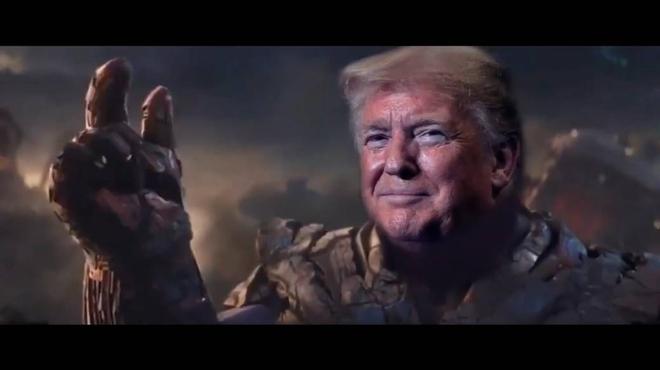 Avengers : Donald Trump est Thanos dans une vidéo de campagne