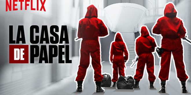 La Casa de Papel : un escape game ouvre à Paris au mois de mai