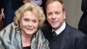 L'actrice Shirley Douglas, mère de Kiefer Sutherland, est décédée