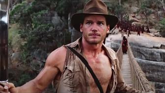 Chris Pratt devient Indiana Jones dans une vidéo deepfake