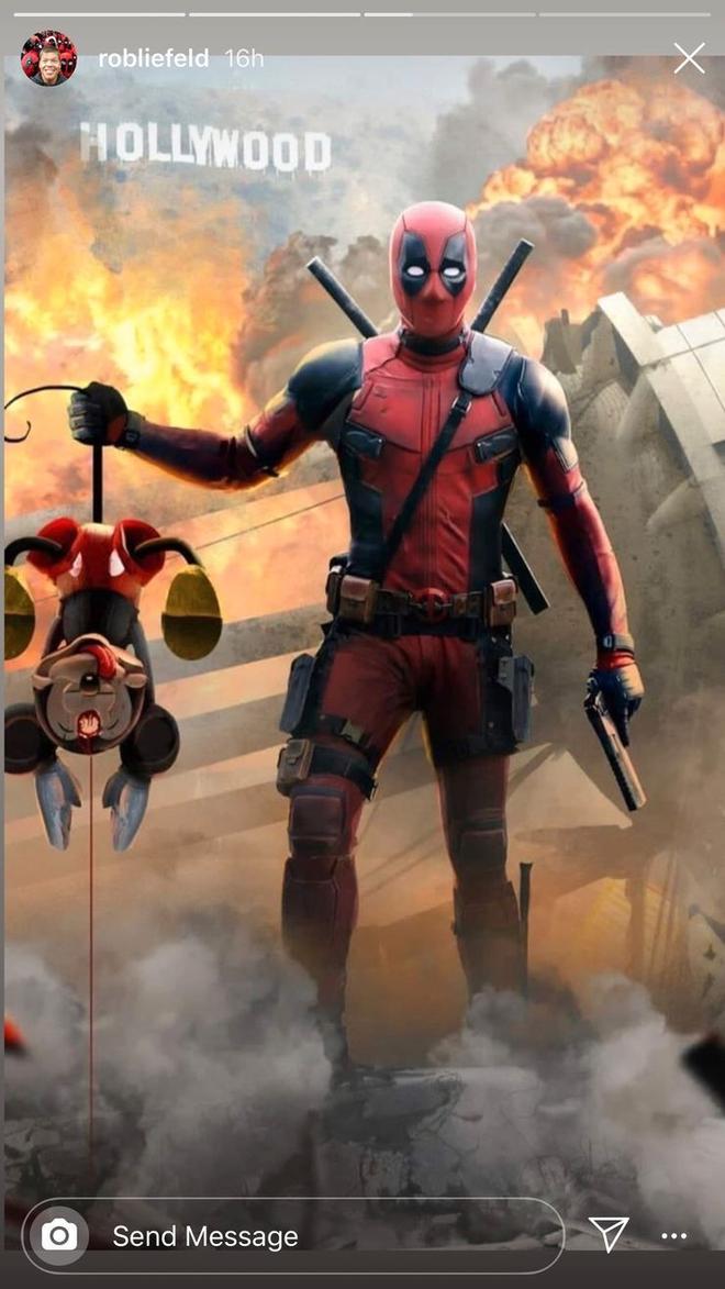 Deadpool 3 : le créateur se lâche contre Disney dans une image violente