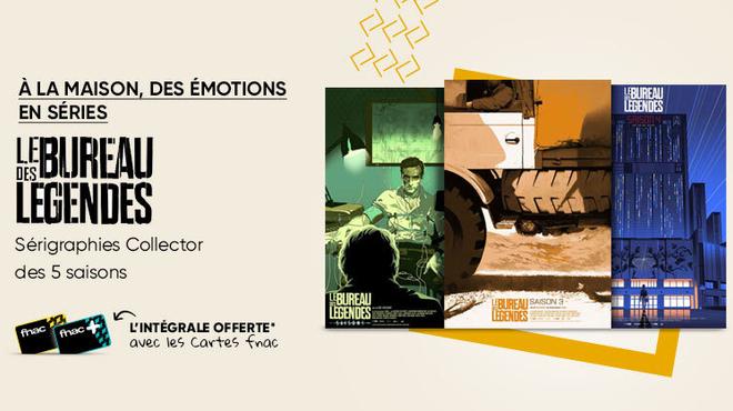 Le Bureau des légendes : l'intégrale des saisons offerte pour l'achat d'une affiche Collector Fnac