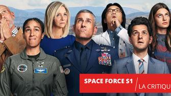 Space Force : la difficile conquête de l'espace de Steve Carrell