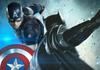 Captain America et Batman se battent dans ce superbe fan art