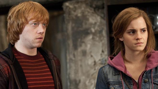 Harry Potter et les reliques de la mort - partie 2 : les coulisses du baiser entre Ron et Hermione