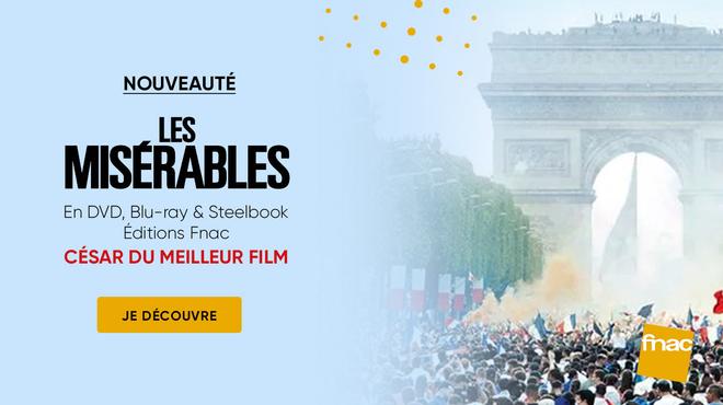 Le César du meilleur film 2020 Les Misérables est disponible en Steelbook Édition Spéciale Fnac Blu-ray