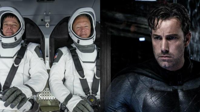 Le créateur des costumes de Batman V Superman a confectionné les combinaisons des astronautes de SpaceX