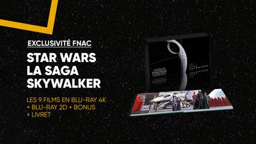 Toute la saga Skywalker en Coffret Exclusif Fnac Blu-ray 4K