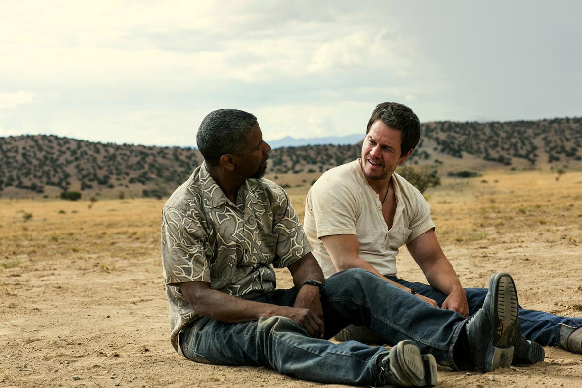 """""""2 Guns"""" : Denzel Washington et Mark Wahlberg ont remplacé Vince Vaughn et Owen Wilson, initialement pressentis pour porter le buddy movie."""