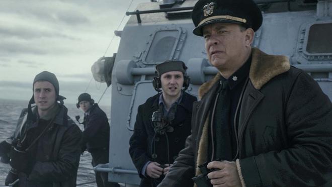 Greyhound : Tom Hanks rayonne dans un film de guerre maritime moyen