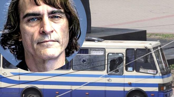 Ukraine : une prise d'otages pour demander la promotion d'un film de Joaquin Phoenix
