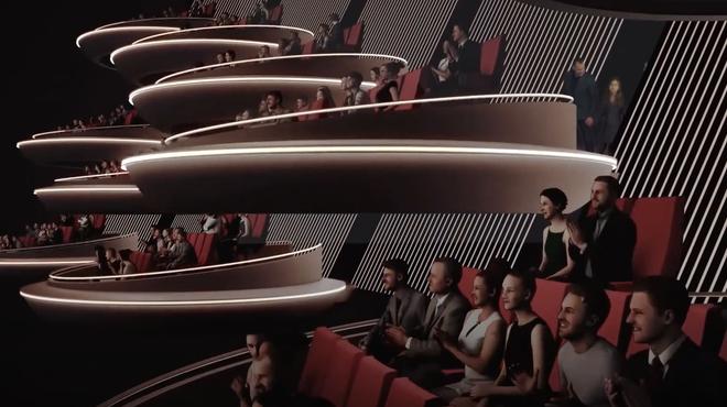 Une incroyable salle de cinéma futuriste pourrait ouvrir en France l'année prochaine