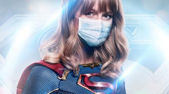 Arrowverse : Flash, Supergirl et les autres super-héros portent le masque face au Covid