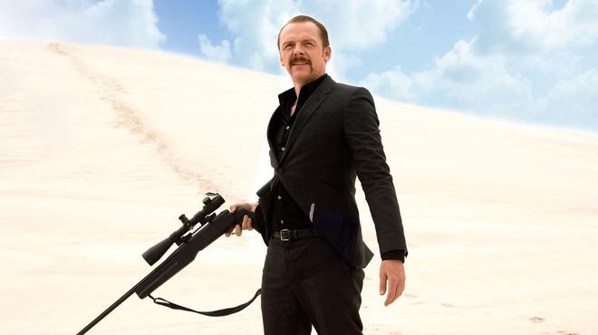 Kill me three times sur Netflix : c'est quoi cette comédie noire avec Simon Pegg ?
