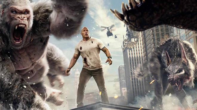 Rampage avec Dwayne Johnson : de quel jeu vidéo le film est-il l'adaptation ?