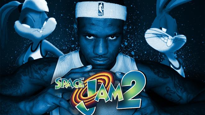 Space Jam 2 : premier aperçu de LeBron James dans le teaser