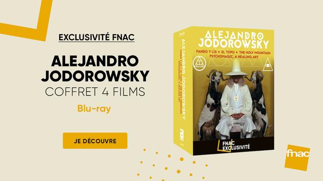 Coffret Alejandro Jodorowsky : 4 films du légendaire créateur en Exclusivité Fnac Blu-ray
