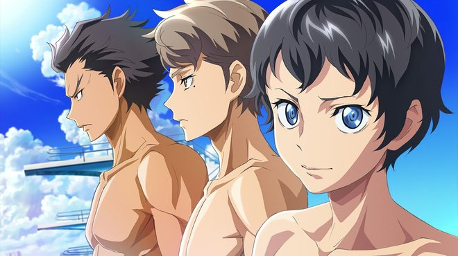Dive : l'anime de plongeon est disponible sur ADN
