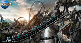 Jurassic World : Universal dévoile sa nouvelle attraction impressionnante
