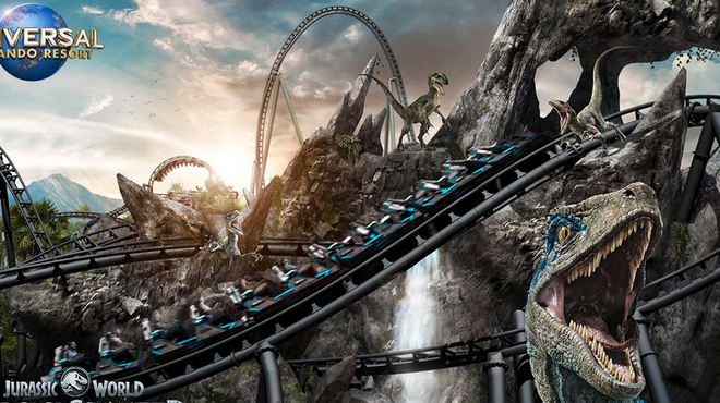 Jurassic World : Universal dévoile sa nouvelle attraction impressionnante