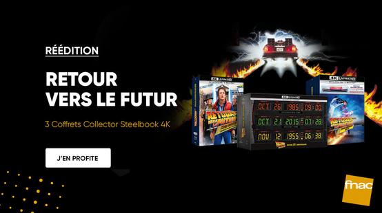 La Fnac célèbre la saga Retour vers le futur avec plusieurs coffrets 4K Ultra HD